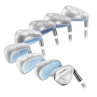 Powerbilt Golf EX-550 Hybrid Iron Set (4-SW Women's RH Graphite)