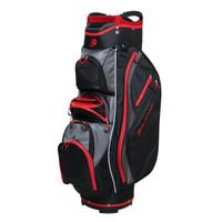 Orlimar Golf CRX Cooler Cart Bag - Black/Red/Charcoal