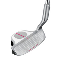 Intech EZ Roll Ladies right hand chipper white/pink