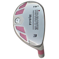 idrive pink hybrid golf club