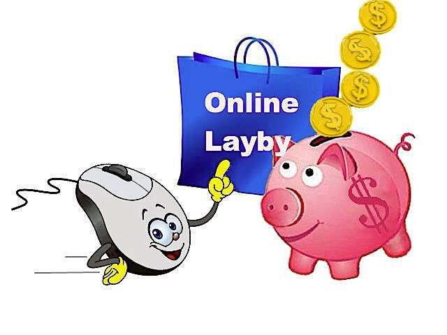 layby2.jpg, computer mouse, piggy bank, shopping bag, online layby