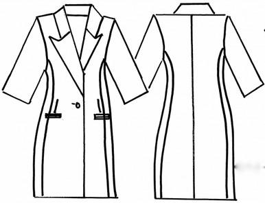 Front & Back Sketch