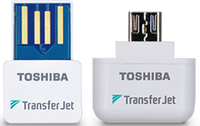 Toshiba Transfer Jet USB/MicroUsb Wireless Adapter (Windows/Android)