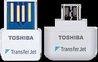 Toshiba Transfer Jet USB/MicroUsb Wireless Adapter (Windows/Android)