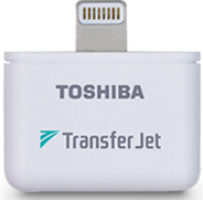 Toshiba Transfer Jet Wireless Adapter (iPod-iPhone-iPad)