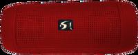 Stream  Portable Wireless speaker BTJ-13 (Red)