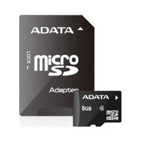 ADATA Micro SD 8GB Retail Packing