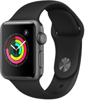 Apple watch Series 3  38mm Gray  Cellular+GPS Open Box/Original Charge