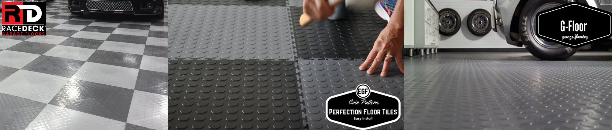 Elite garage floors garage flooring garage cabinets garage industrial tiles dailygadgetfo Images