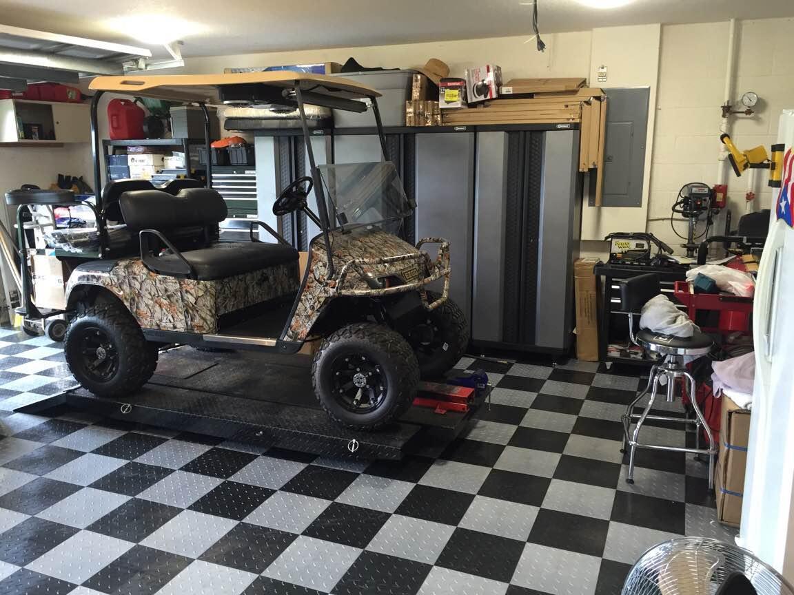Race deck tiles garage floor tiles rigid garage floor tiles xtreme garage floor tiles dailygadgetfo Gallery