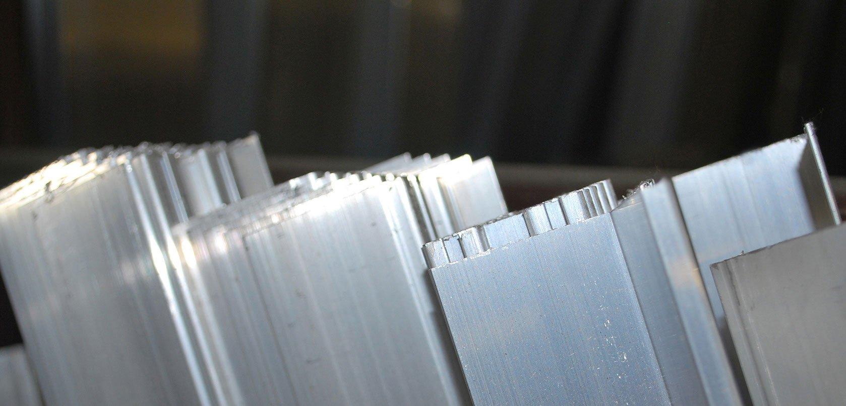 Aluminum garage door threshold - Aluminum Retainers Cluster Jpg