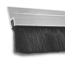 aluminumretainer-brush.jpg  sc 1 st  Elite Garage Floors & Standard aluminum retainer and Brush Weather Seals.