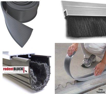Garage Thresholds / Weather Seals & Garage Door Thresholds | Garage Door Seals | Elite Garage Floors