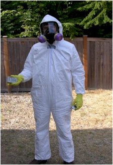Protective Clothing working with Epoxy