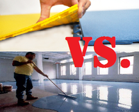Who Wins The Fight Pvc Tile Or Epoxy Elite Garage Floors