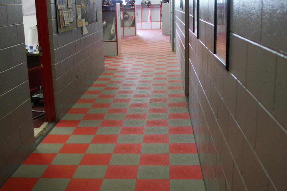 Garage Floor Tiles Xtreme Garage Floor Tiles Diamond Pattern Rigid Interlocking Tiles