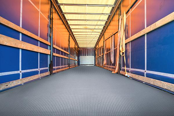 Solid Vinyl Trailer Flooring