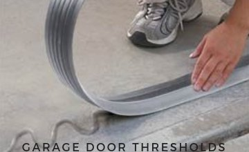 Garage Door Threshold Kits