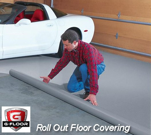 Gfloor Rolloutfloorcovering G Floor By Better Life Technologies Is A Roll  Out Vinyl Garage ...
