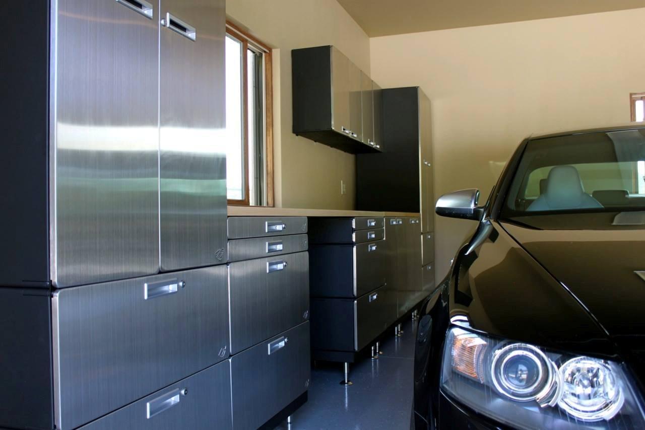 Merveilleux Hercke Stainless Garage ...