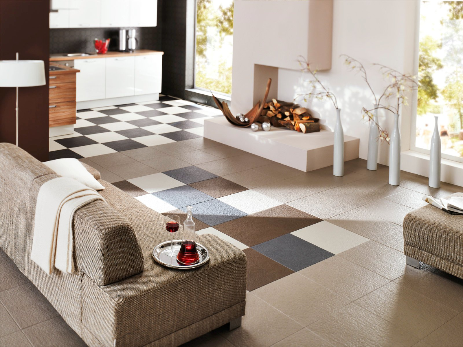 Perfection Floor Tile HomeStyle Slate Tiles | Flexible Slate Tiles