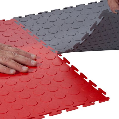 Flexible Interlocking Tiles, Easy Install