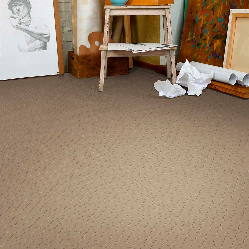 Perfection floor diamond pattern flexible interlocking tiles perfection floor diamond beige art studiog dailygadgetfo Images