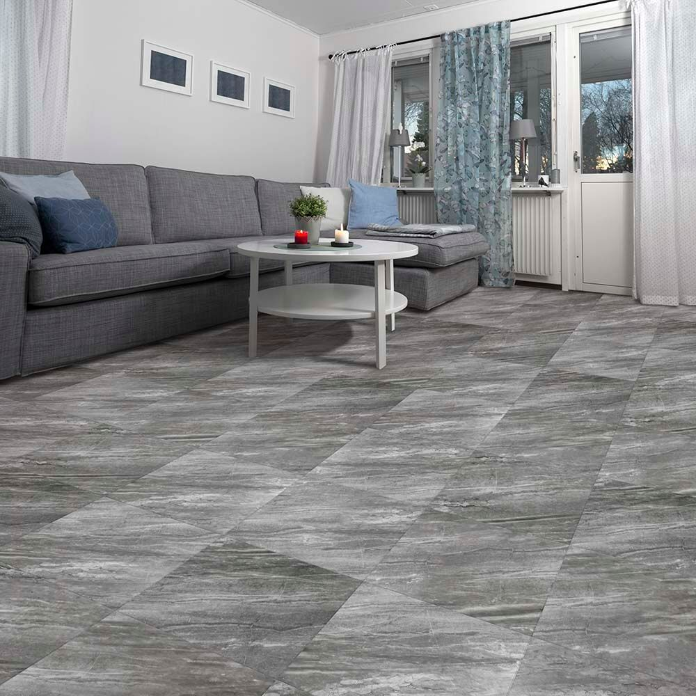 Perfection Floor Tile Natural Stone Flexible Tiles Luxury Vinyl Tiles - Mate flex flooring