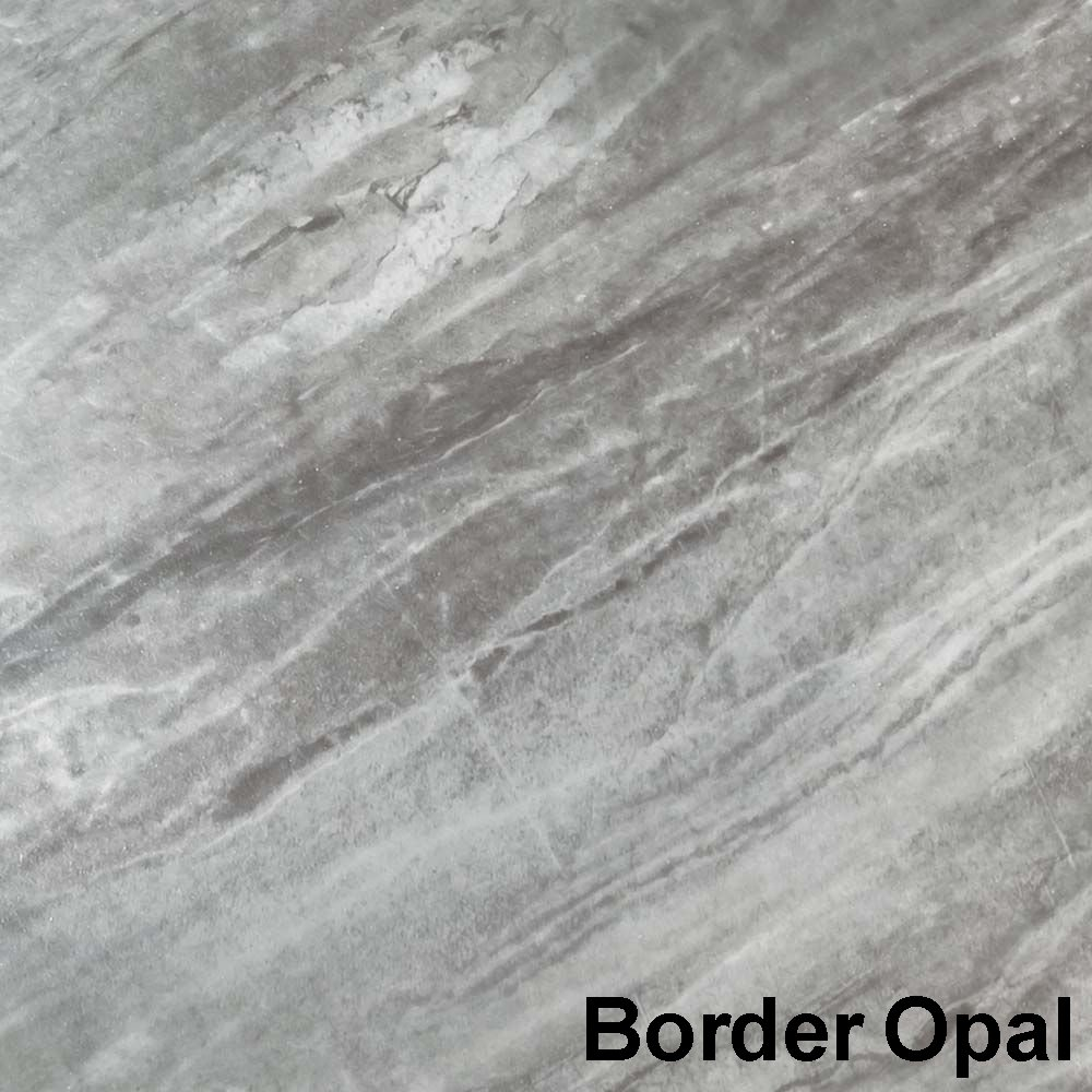 Perfection Floor Tile Gemstone Border Opal