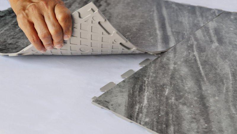Perfection Floor Tile Natural Stone Flexible Tiles Luxury Vinyl