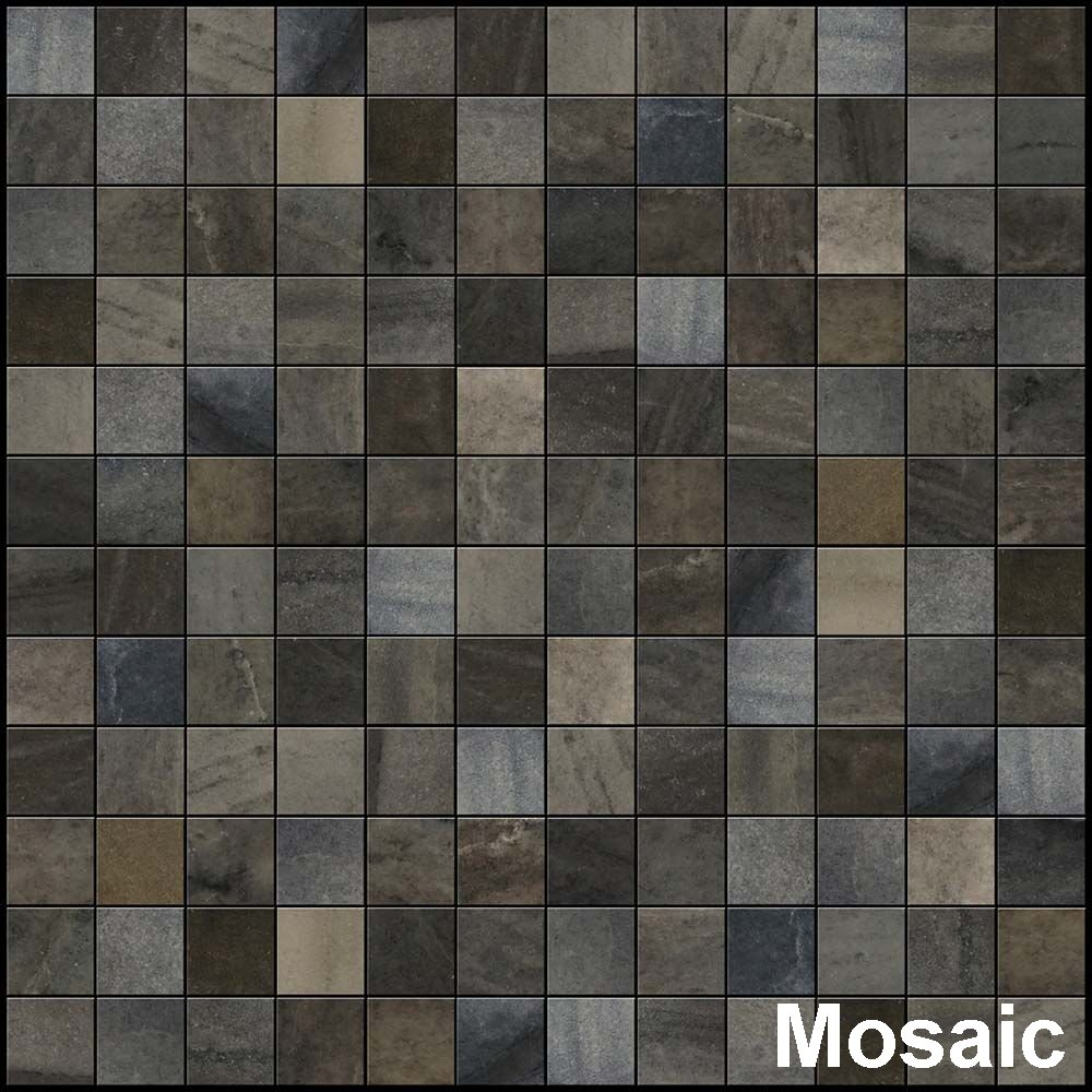 Perfection Floor Tile Stone Creek Mosaic