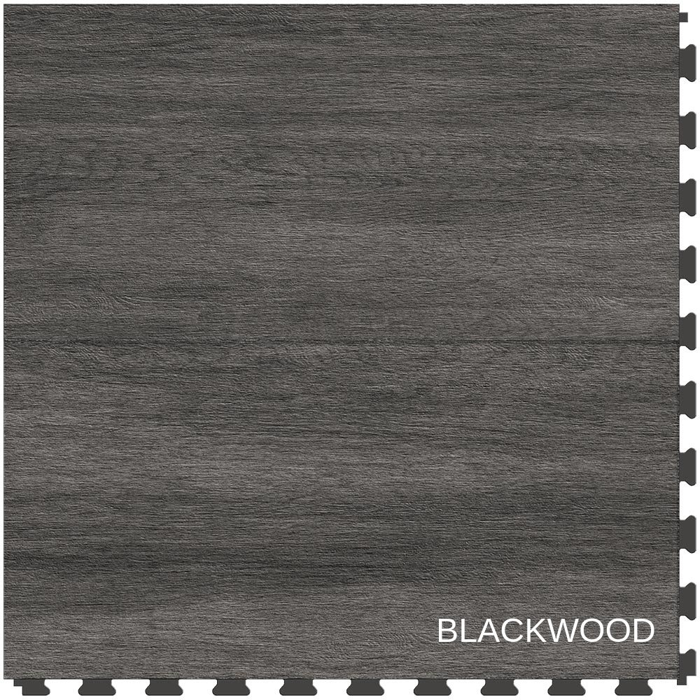 Perfection Floor Tile Breakenridge Wood Blackwood