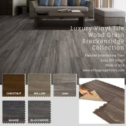 Perfection Floor Tile Luxury Vinyl Tile Breckenridge Wood Collection