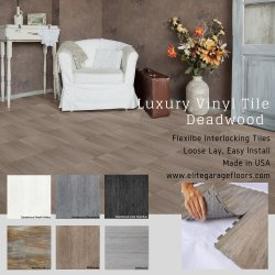 Perfection Floor Tile Deadwood Collection