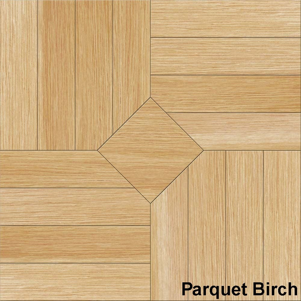Perfection Floor Tile Parquet Birch