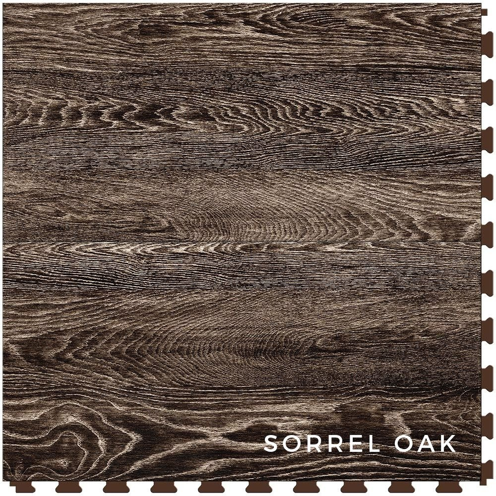 Perfection Floor Tile Vintage Wood Sorrel Oak