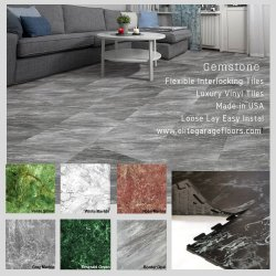 Perfection Floor Tile<br>Luxury Vinyl Tile Gemstone