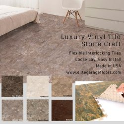 Perfection Floor Tile Luxury Vinyl Tile Stone Craft