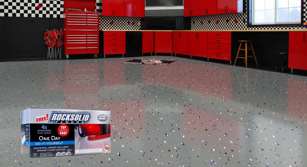Rock Solid Floors Polyurea Industrial Floor Coating System