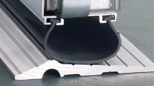 threshold-aluminum.jpg & Aluminum Garage Door Threshold for Commercial or Residential Doors Pezcame.Com