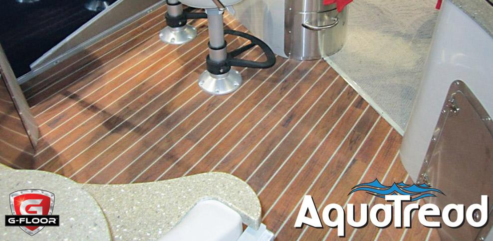 Aquatread Marine Flooring Boat Flooring