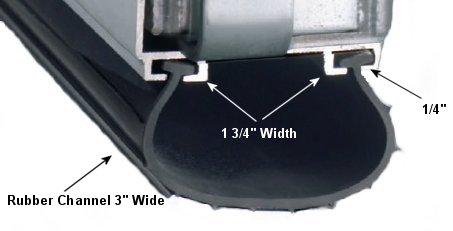 garage door rubber seal products