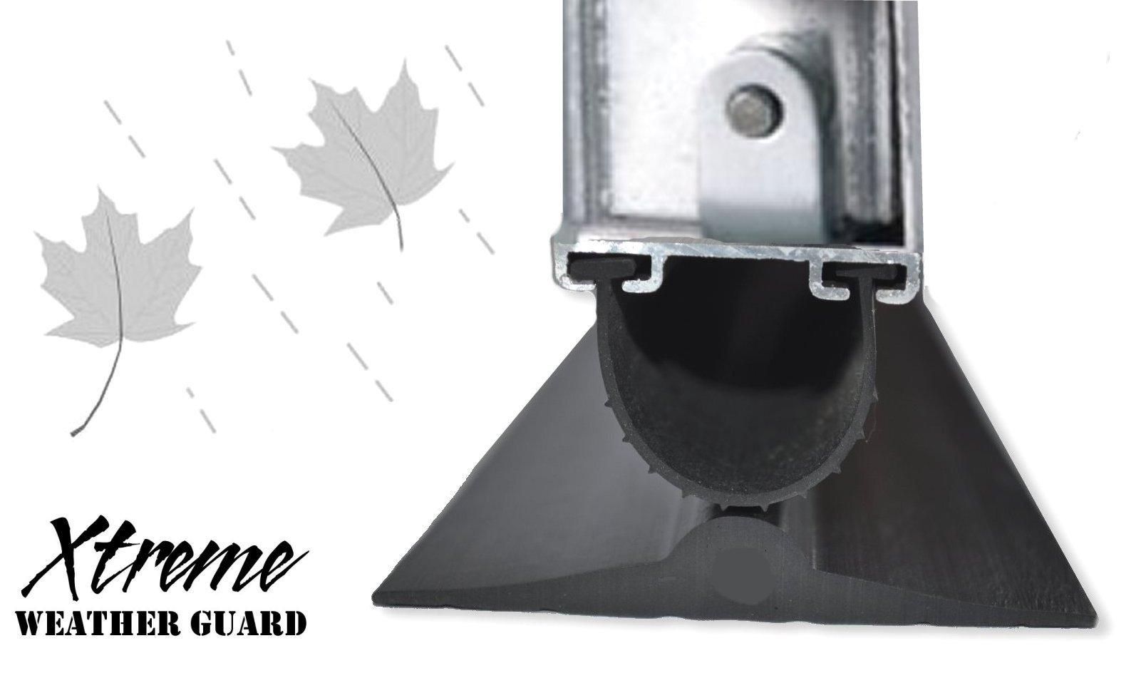 weather cms threshold kit seal garage garadry high door seals