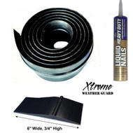 "Xtreme Weather Guard 6"" Wide XL Overhead Door Threshold"