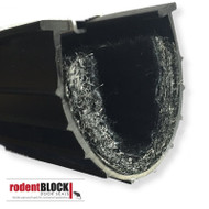 Rodent Block Xcluder Door Seal for Garage Door and Overhead Doors