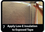 Easy Install of the Low-E Garage Door Insulation Kit