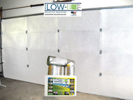 Low-E Garage Door Insulation Kit