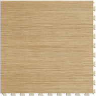 Perfection Floor Tile Wood Grain Birch.  Flexible Interlocking Tiles.