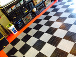 Xtreme Garage Floor Tiles, Diamond Pattern Interlocking Tiles