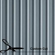 G Floor Ribbed Pattern Roll Out Vinyl Floor Covering, Custom Cut